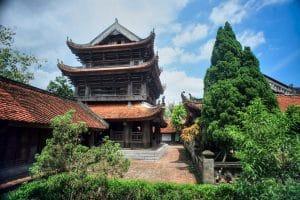 Cảnh quan chùa keo Thái Bình