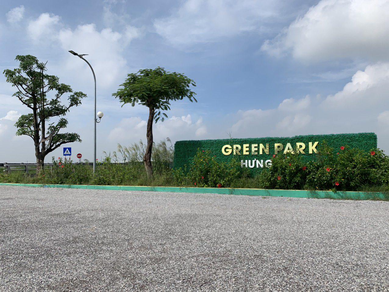 Cổng chào Green Park Hưng Hà Thái Bình