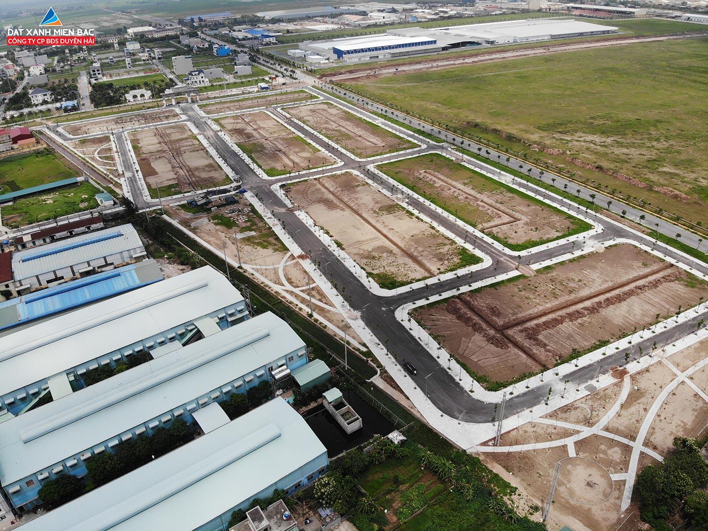 Flycam Dự án Đất Nền Tiền Hải Center City – Trái Diêm 3