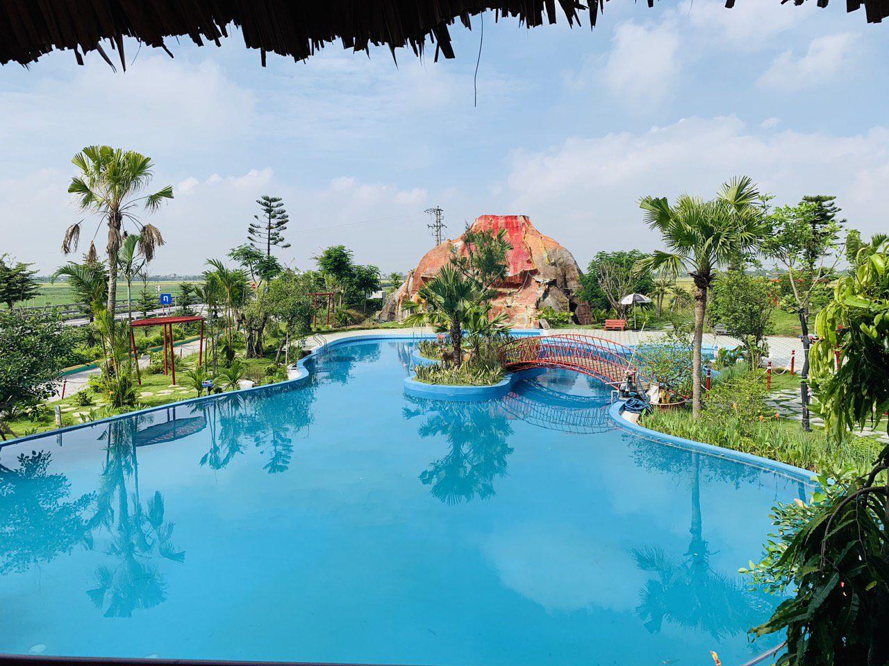 Hồ bơi vô cực Green Park Hưng Hà Thái Bình
