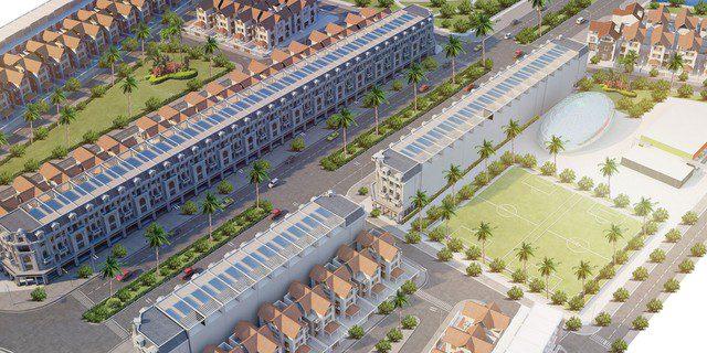 Khu phức hợp Dragon City Kỳ Đồng TP Thái Bình