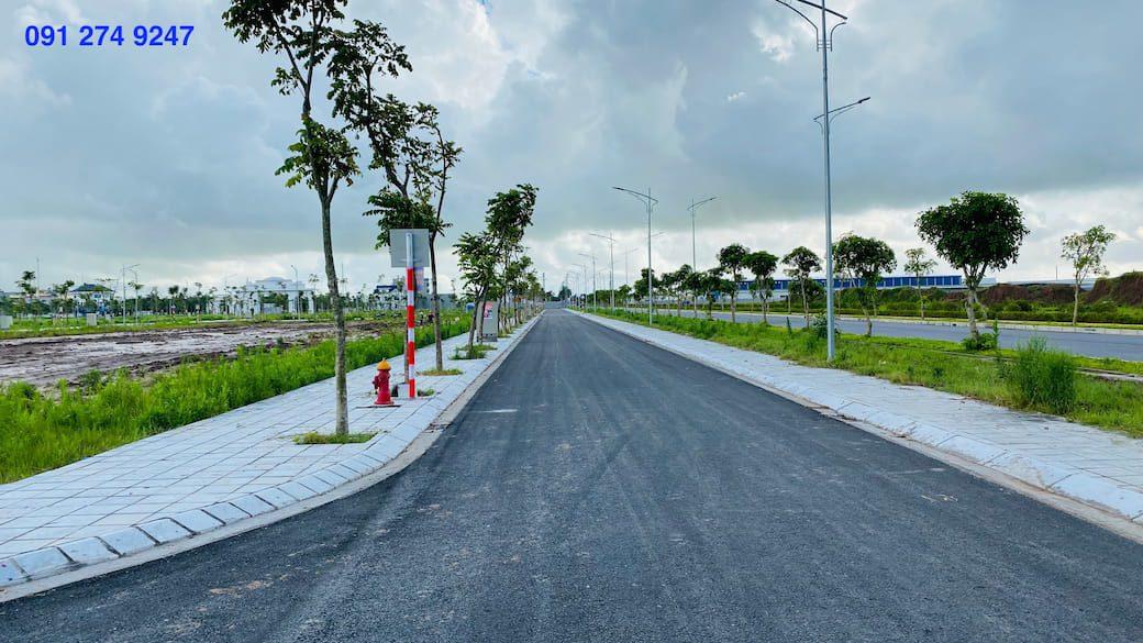 Thực tế xây dựng Hạ tầng hoàn thiện tại dự án Khu đô thị Trái Diêm 3 - Tiền Hải Center City