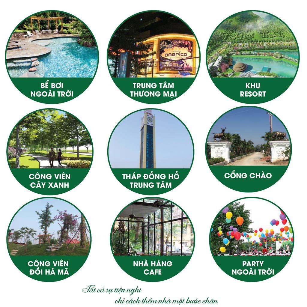 Tiện ích dự án Green Park Hưng Hà