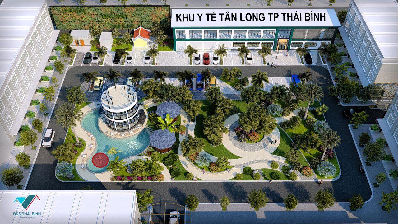 Đất nền Khu dịch vụ trung tâm y tế Tân Long TP Thái Bình