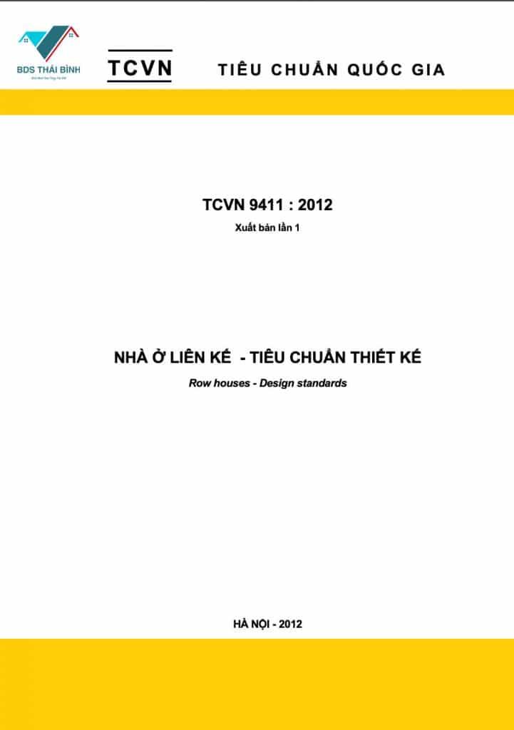 Tiêu Chuẩn Việt Nam TCVN 9411:2012