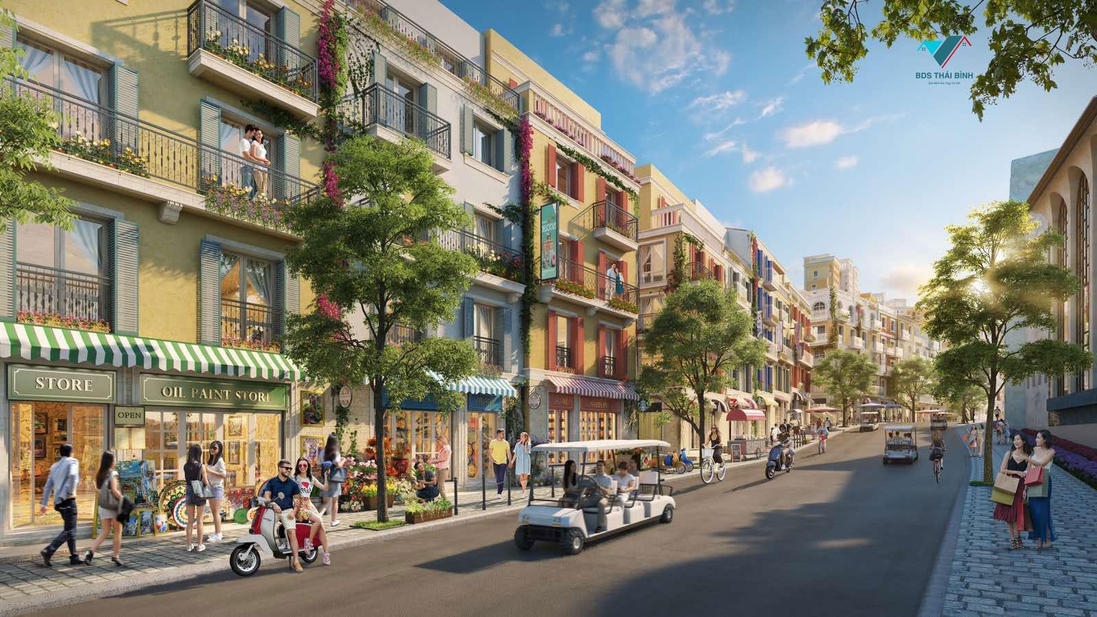 Nhà phố liền kề - Nhà phố thương mại