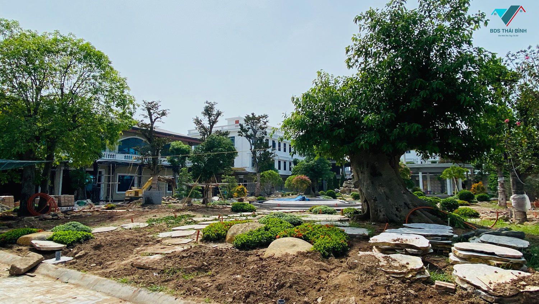 Thực tế hoàn thiện nội khu Y tế Tân Long Thái Bình