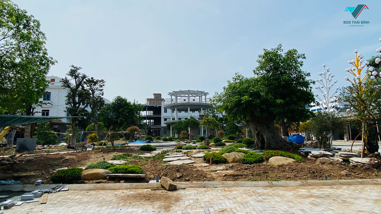 Thực tế nội khu nhà ở Y tế Tân Long Thái Bình