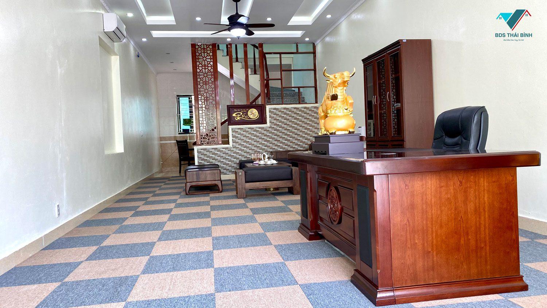 Thực tế tầng 1 nhà ở Y tế Tân Long Thái Bình