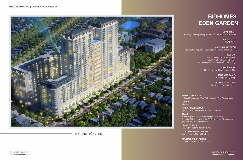 Chung cư Eden Garden Thái Bình - Chủ đầu tư Bid Group