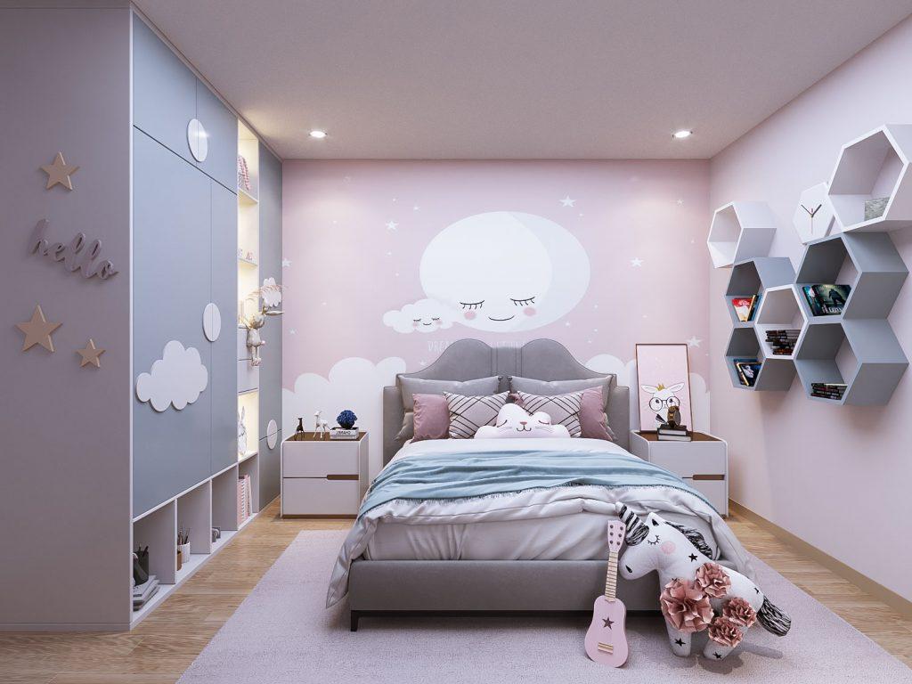 Kiến trúc phòng ngủ cho bé Chung cư Lê Lợi Eden Garden TP Thái Bình