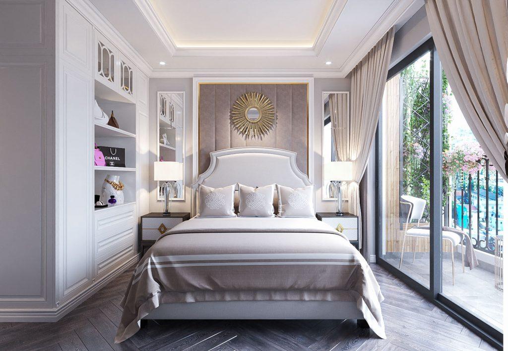 Kiến trúc phòng ngủ căn 3PN Chung cư Lê Lợi Eden Garden TP Thái Bình